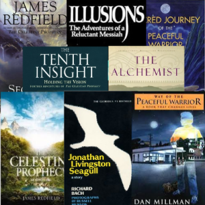 Examples of new age fiction and spiritual fiction