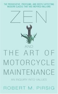Zen and the Art of Motorcycle Maintenance, new age fiction that explores Western philosophy and spirituality