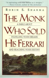 The Monk Who Sold His Ferrari Robin Sharma new age fiction metaphysical novel spiritual